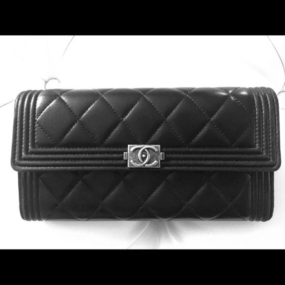CHANEL Handbags - Boy Chanel long Flap wallet